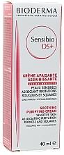 Düfte, Parfümerie und Kosmetik Reinigende und beruhigende Gesichtscreme gegen Rötungen und Reizungen - Bioderma Sensibio DS+ Soothing Purifying Cleansing Cream