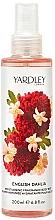 Düfte, Parfümerie und Kosmetik Yardley English Dahlia Body Mist - Feuchtigkeitsspendender und parfümierter Körpernebel