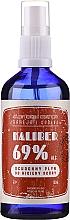 Düfte, Parfümerie und Kosmetik Antibakterielle Flüßigkeit für Hände in Sprayform - Polny Warkocz Kaliber 69%