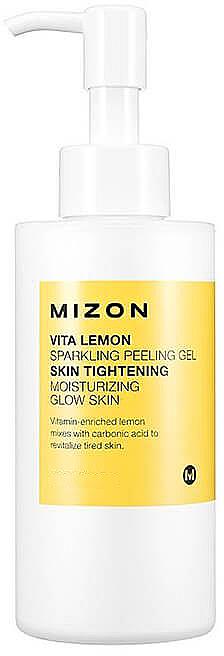 Feuchtigkeitsspendendes Peelinggel für das Gesicht mit Zitrone - Mizon Vita Lemon Sparkling Peeling Gel