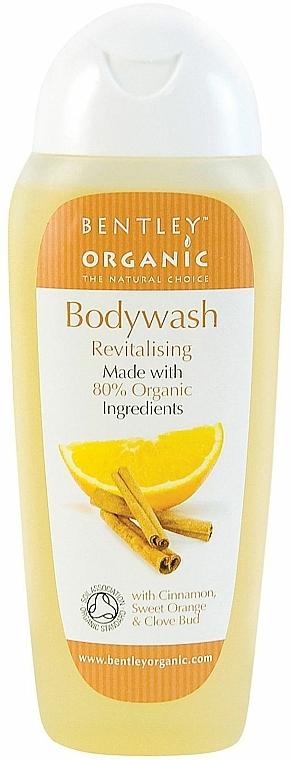 Revitalisierendes Duschgel mit Zimt und Orange - Bentley Organic Body Care Revitalising Bodywash — Bild N1