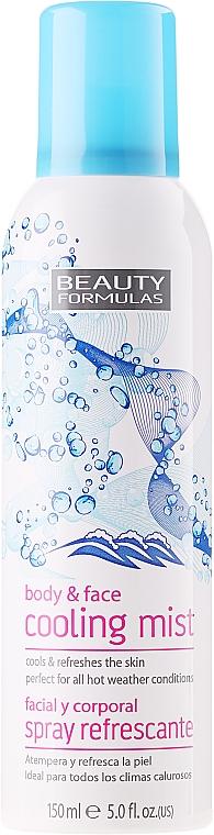 Kühlender und erfrischender Körper- und Gesichtsnebel - Beauty Formula Cooling Mist Spray