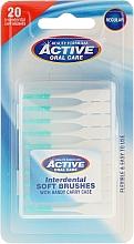 Düfte, Parfümerie und Kosmetik Interdentalzahnbürsten Regular grün 20 St. - Beauty Formulas Active Oral Care Interdental Soft Brushes Regular