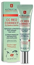 Düfte, Parfümerie und Kosmetik CC Creme gegen Hautrötungen LSF 25 - Erborian CC Red Correct