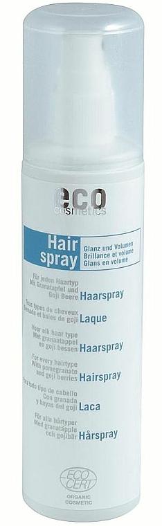 Haarspray für mehr Glanz und Volumen - Eco Cosmetics Hairspray