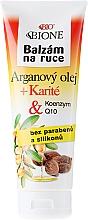 Düfte, Parfümerie und Kosmetik Handbalsam für jede Haut mit Arganöl - Bione Cosmetics Argan Oil Hand Ointment
