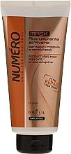 Düfte, Parfümerie und Kosmetik Restrukturierende Haarmaske mit Haferextrakt für schwaches und strapaziertes Haar - Brelil Numero Total Repair Mask