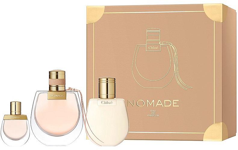 Chloe Nomade - Duftset (Eau de Parfum 75ml + Eau de Parfum (mini) 5ml + Körperlotion 100ml)
