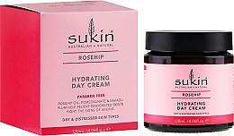 Düfte, Parfümerie und Kosmetik Tägliche feuchtigkeitsspendende Gesichtscreme mit Hagebuttenöl - Sukin Rose Hip Hydrating Day Cream