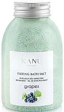 Düfte, Parfümerie und Kosmetik Badesalz mit Weintraube - Kanu Nature Grapes Fizzing Bath Salt