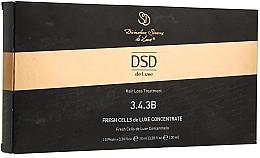 Düfte, Parfümerie und Kosmetik Behandlung in Ampullen gegen Haarausfall und zum Wachstum № 3.4.3B - Divination Simone De Luxe Fresh Cells De Luxe wondercell Concentrate