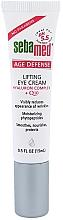 Düfte, Parfümerie und Kosmetik Glättende, nährende und schützende Augenkonturcreme mit Lifting-Effekt und Coenzym Q10 - Sebamed Q-10 Eye Lifting