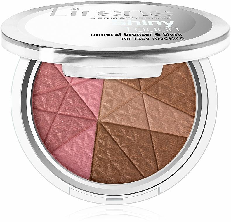 Gesichtsbronzer - Lirene Shiny Touch Mineral Bronzer & Blush