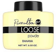 Düfte, Parfümerie und Kosmetik Fixierender Loser Reis Gesichtspuder mit Bananenfarbe - Bell Loose Rice Fixing Banana Powder