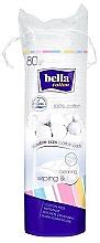 Düfte, Parfümerie und Kosmetik Runde Kosmetikpads 80 St. - Bella