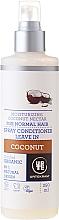 Düfte, Parfümerie und Kosmetik Feuchtigkeitsspendender Haarspray-Conditioner mit Bio Kokosnektar für normales Haar - Urtekram Coconut Spray Conditioner