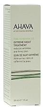 Düfte, Parfümerie und Kosmetik Festigende, Anti-Pollution Gesichtscreme für die Nacht - Ahava Time to Revitalize Extreme Night Treatment