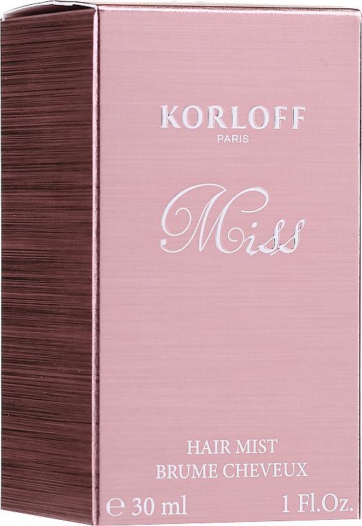 Korloff Paris Miss - Haarnebel
