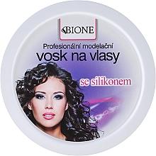 Düfte, Parfümerie und Kosmetik Regenerierendes Haarwachs für trockenes & strapaziertes Haar - Bione Cosmetics Professional Hair Wax Silicone