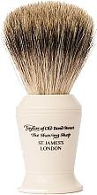 Düfte, Parfümerie und Kosmetik Rasierpinsel P376 Größe L - Taylor of Old Bond Street Shaving Brush Pure Badger size L