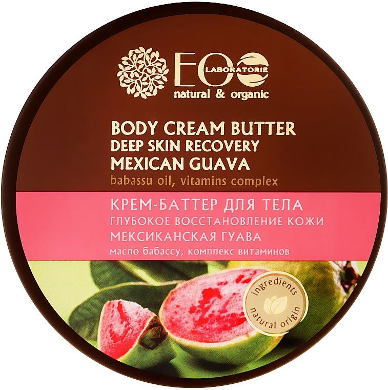 Tief regenerierende Körpercreme-Butter - ECO Laboratorie Natural & Organic