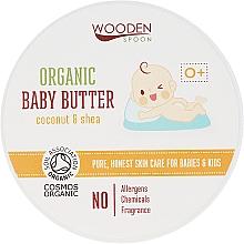 Düfte, Parfümerie und Kosmetik Bio Körperbutter für Babys mit Kokosnuss und Shea - Wooden Spoon Organic Baby Butter