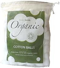 Düfte, Parfümerie und Kosmetik Bio Wattebällchen - Simply Gentle Organic Cotton Wool Balls