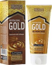 Düfte, Parfümerie und Kosmetik Peeling-Waschmaske - Beauty Formulas Gold Gel Facial Mask