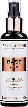 Düfte, Parfümerie und Kosmetik Make-up-Fixierer - Makeup Revolution Base Fix Makeup Fixing Spray