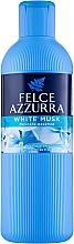 Düfte, Parfümerie und Kosmetik Bade- und Duschgel mit weißem Moschus - Felce Azzurra Shower Gel And Bath Foam