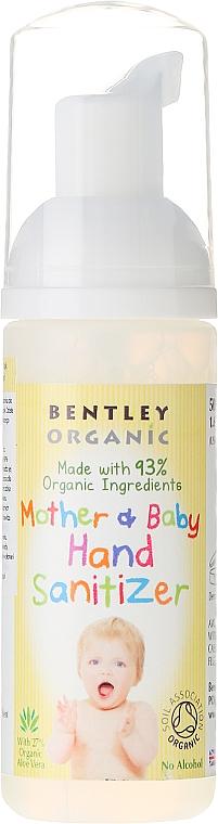 Antibakterieller Handschaum für Mütter und Babys - Bentley Organic Mother & Baby Hand Sanitizer