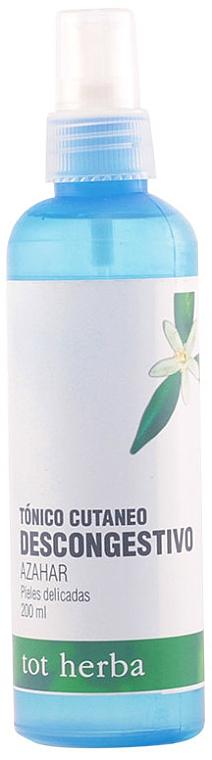 Gesichtsreinigungstonikum mit Orangenblüten - Tot Herba Orange Flower Water Tonic