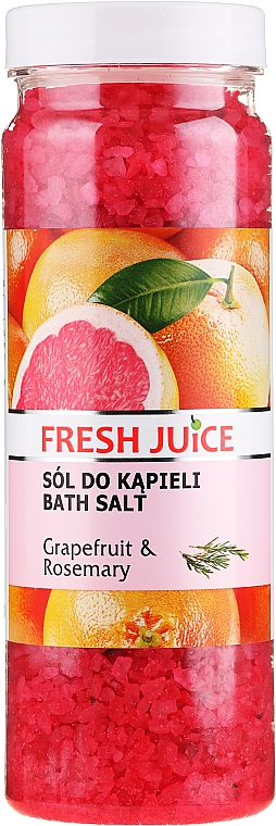 Badeperlen Grapefruit & Rosmarin - Fresh Juice Bath Bijou Rubin Grapefruit and Rosemary