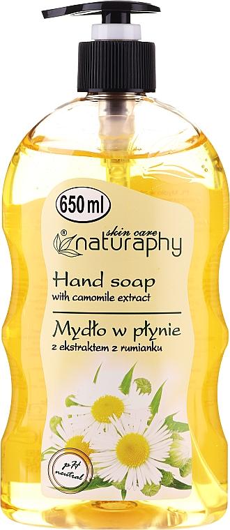 Flüssige Handseife mit Kamillenextrakt - Bluxcosmetics Naturaphy Hand Soap
