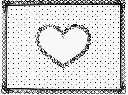 Düfte, Parfümerie und Kosmetik Silikonmatte für Maniküre weiß mit Herz - Elisium