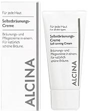 Düfte, Parfümerie und Kosmetik Pflegender Selbstbräuner für Gesicht - Alcina B Self-Tanning Cream