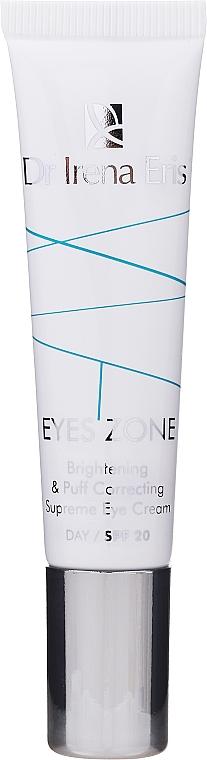 Aufhellende und korrigierende Augenkonturcreme SPF 20 - Dr Irena Eris Eyes Zone Brightening & Puff Correcting Supreme Eye Cream — Bild N1