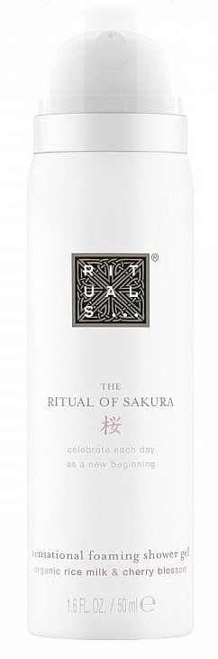 Duschschaum mit Kirschblüte und Reismilch - Rituals Sakura Foaming Shower Gel