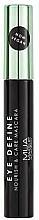 Düfte, Parfümerie und Kosmetik Wimperntusche für mehr Volumen mit Avocadoöl - MUA Eye Define Nourish & Care Mascara