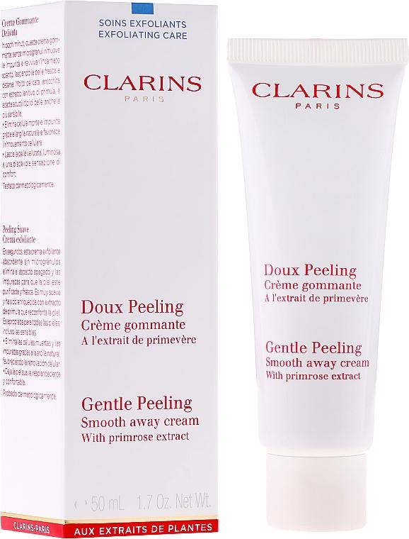 Sanfte Gesichtspeeling-Creme mit Primelextrakt - Clarins Gentle Peeling Smooth Away Cream — Bild N1