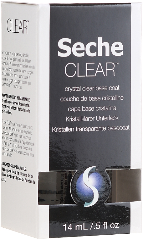 Nagelunterlack - Seche Vite Clear Crystal Base Coat