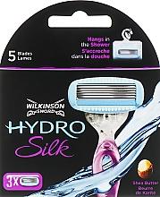 Düfte, Parfümerie und Kosmetik Ersatzklingen 3 St. - Wilkinson Sword Hydro Silk