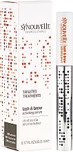 Düfte, Parfümerie und Kosmetik Hochkonzentriertes Wirkstoff-Serum für Wimpern und Augenbrauen - Synouvelle Cosmectics Targeted Treatments Lash & Brow Activating Serum