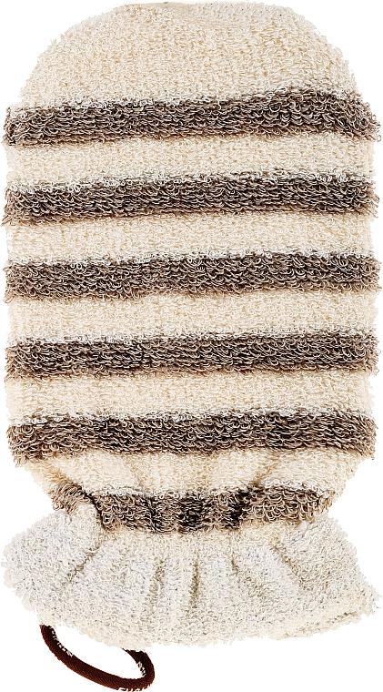 Badehandschuh aus Leinen - Suavipiel Natural Ramie & Cotton Mitt