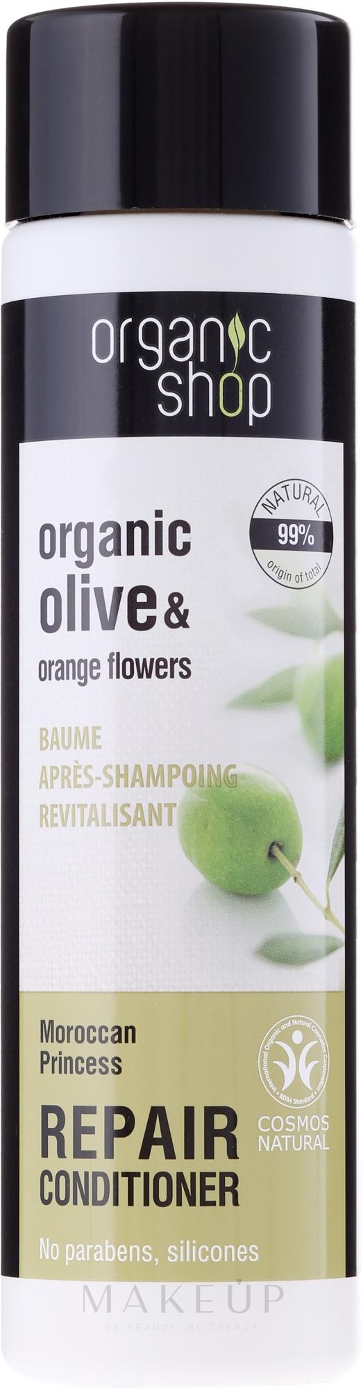 """Regenerierende Haarspülung """"Marokkanische Prinzessin"""" - Organic Shop Organic Olive and Argan Oil Repair Conditioner — Bild 280 ml"""