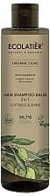 Düfte, Parfümerie und Kosmetik 2in1 Shampoo und Haarspülung mit Bio Olivenöl und Olivenextrakt - Ecolatier Organic Olive Hair-Shampoo Balm