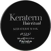 Düfte, Parfümerie und Kosmetik Keratin-Maske für chemisch behandeltes und kraftloses Haar - Fanola Keraterm Mask