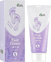 Düfte, Parfümerie und Kosmetik Beruhigende Fußcreme mit Lavendel - Ekel Foot Cream