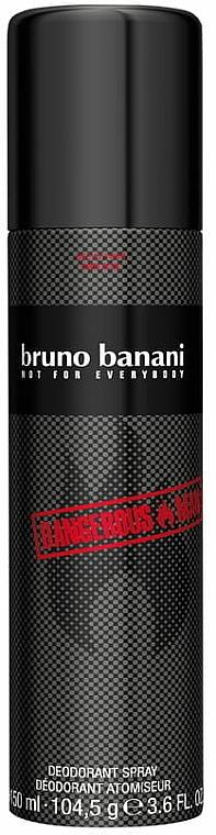 Bruno Banani Dangerous Man - Deodorant spray