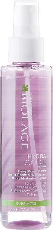 Feuchtigkeisspendender Haarspray mit 10% Aloe - Biolage Hydrasource Hydra-Seal Spray